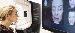 Hautanalyse mit dem Visia Scan