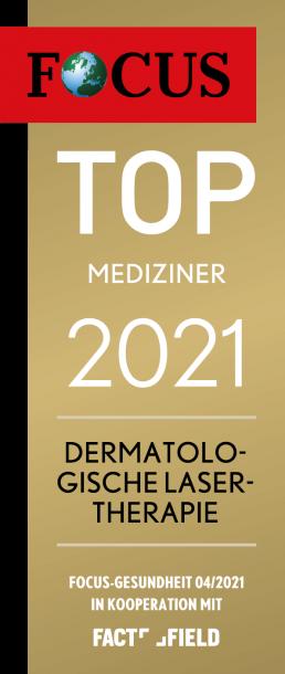 Focus top-mediziner-Siegel-dermatologische-lasertherapie